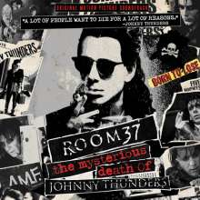 Filmmusik: Room 37 - The Mysterious Death Of Johnny Thunders (Limited Edition) (Red Vinyl), LP