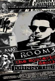 Room 37: The Mysterious Death Of Johnny Thunders, DVD