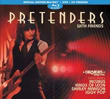The Pretenders: Pretenders With Friends (Special-Edition), 1 CD, 1 DVD und 1 Blu-ray Disc