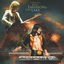 A Tribute To Keith Emerson & Greg Lake (Limited Edition) (Orange Vinyl), LP