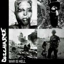 Discharge: War Is Hell (Limited Edition) (Blue Vinyl), LP