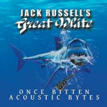 Jack Russell's Great White: Once Bitten Acoustic Bytes (Limited Edition) (Blue Vinyl), LP