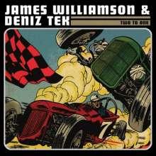 James Williamson & Deniz Tak: Two To One (Black Vinyl oder Colored Vinyl, Auslieferung nach Zufallsprinzip), LP