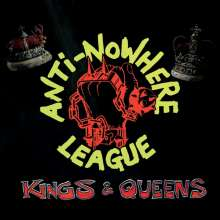 Anti-Nowhere League: Kings & Queens (Limited Edition) (Red Vinyl), LP