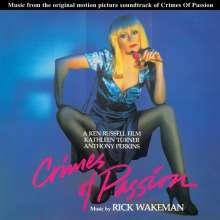 Rick Wakeman: Filmmusik: Crimes Of Passion (Limited Edition) (Pink Vinyl), LP
