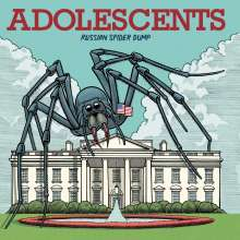Adolescents: Russian Spider Dump (Limited Edition) (Red Vinyl), LP