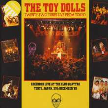 Toy Dolls (Toy Dollz): Twenty-Two Tunes Live From Tokyo (Limited Edition) (Yellow Vinyl), 2 LPs