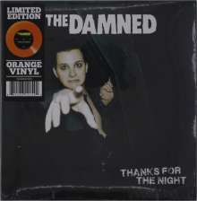 """The Damned: Thanks For The Night (Limited Edition) (Orange Vinyl), Single 7"""""""