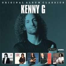 Kenny G. (geb. 1956): Original Album Classics, 5 CDs