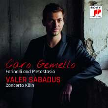 Valer Sabadus - Caro Gemello (Farinelli & Metastasio), CD