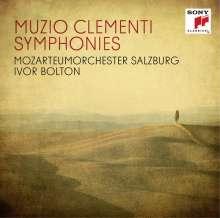 Muzio Clementi (1752-1832): Symphonien Nr.1-4, 2 CDs
