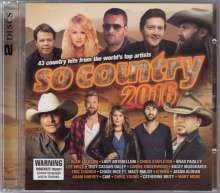 So Country 2016, 2 CDs