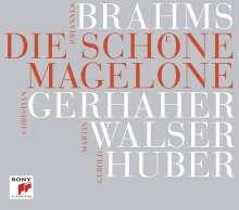 Johannes Brahms (1833-1897): Die Schöne Magelone op.33 (mit neuer Textfassung von Martin Walser), 2 CDs