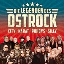 Legenden des Ost-Rock (Die großen Vier: Puhdys - City - Karat - Silly), 2 CDs