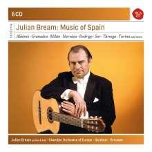Julian Bream - Music of Spain, 6 CDs