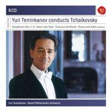 Yuri Temirkanov conducts Tschaikowsky, 6 CDs