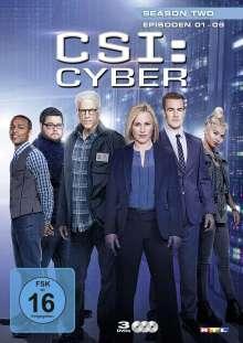 CSI Cyber Season 2 Box 1, 3 DVDs
