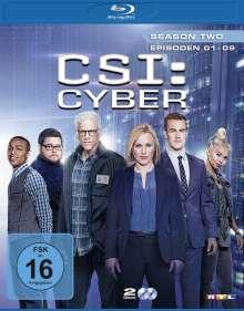 CSI Cyber Season 2 Box 1 (Blu-ray), 2 Blu-ray Discs