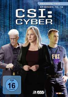 CSI Cyber Season 2 Box 2, 3 DVDs