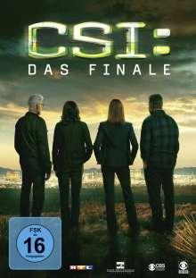 CSI Las Vegas - Das Finale, DVD