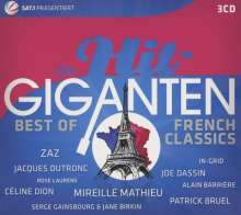 Die Hit Giganten - Best Of French Classics, 3 CDs