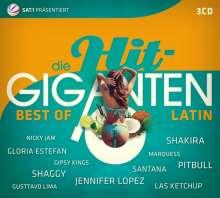 Die Hit Giganten - Best Of Latin, 3 CDs