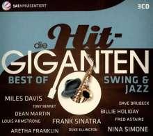 Die Hit Giganten - Best Of Swing & Jazz, 3 CDs
