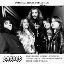Exodus: Original Album Collection, 5 CDs