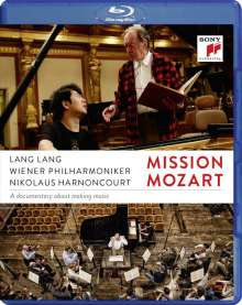 Lang Lang - Mission Mozart (Dokumentation), Blu-ray Disc