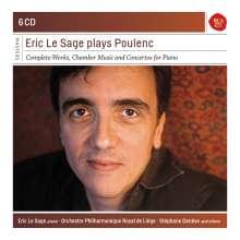 Eric Le Sage plays Poulenc, 6 CDs