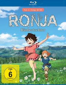 Ronja Räubertochter Vol. 4 (Blu-ray), Blu-ray Disc