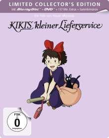 Kiki's kleiner Lieferservice (Blu-ray & DVD im Steelbook), 2 Blu-ray Discs