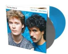 Daryl Hall & John Oates: The Very Best Of Daryl Hall & John Oates (remastered) (Limited Edition) (Grey & Blue Vinyl), 2 LPs