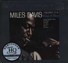 Miles Davis (1926-1991): Kind Of Blue (Ultimate HiQuality) (UHQ) (Limited-Numbered-Edition), CD