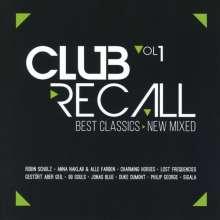 Club Recall, 2 CDs