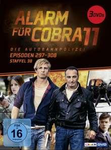 Alarm für Cobra 11 Staffel 38, 3 DVDs