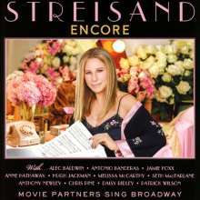 Barbra Streisand: Musical: Encore: Movie Partners Sing Broadway, CD