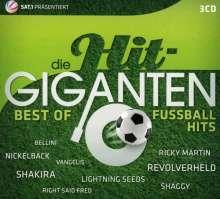 Die Hit-Giganten: Best Of Fußballhits, 3 CDs