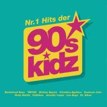 Nr.1 Hits der 90s Kidz, 3 CDs