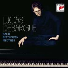 Lucas Debargue - Bach, Beethoven, Medtner, CD