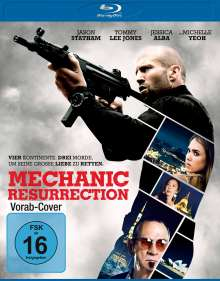 Mechanic: Resurrection (Blu-ray), Blu-ray Disc
