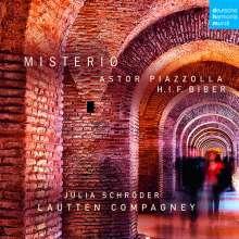 Lautten Compagney - Misterio (Werke von Biber & Piazzolla), CD