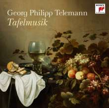 Georg Philipp Telemann (1681-1767): Tafelmusik (Ausz.), CD