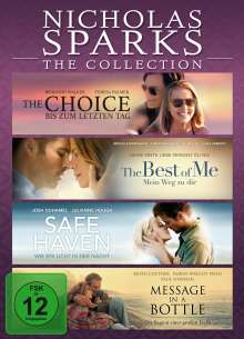 Nicholas Sparks - The Collection, 4 DVDs