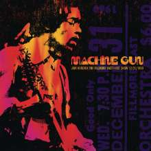 Jimi Hendrix: Machine Gun – The Fillmore East First Show 12/31/1969 (180g), 2 LPs