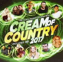 Cream Of Country 2017, 1 CD und 1 DVD