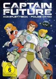 Captain Future (Komplettbox), 8 DVDs