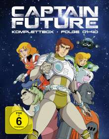 Captain Future (Komplettbox) (Blu-ray), 4 Blu-ray Discs