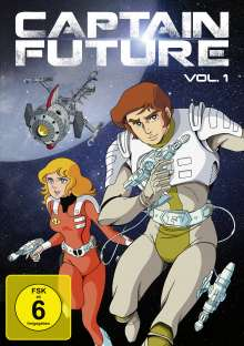 Captain Future Vol. 1, 2 DVDs