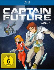 Captain Future Vol. 1 (Blu-ray), 2 Blu-ray Discs